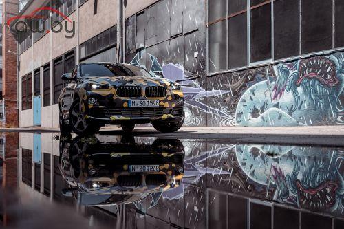 BMW впервые показала фотографии кроссовера X2