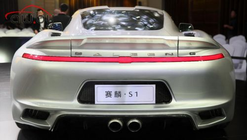 В Китае представили спорткар с двигателем от Focus RS