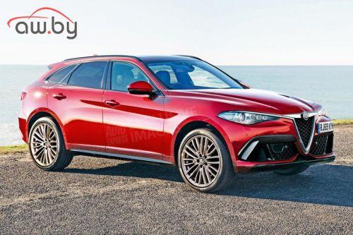 Alfa Romeo разрабатывает кроссовер с 400-сильным мотором