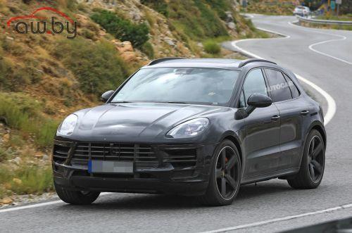 Porsche готовит обновление для Macan