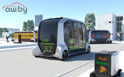 Toyota показала «умный магазин на колесах»