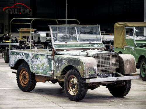 Самый первый Land Rover получит новую жизнь (фото)