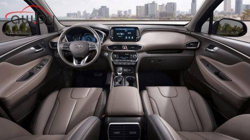 Hyundai раскрыла внешность и интерьер нового Santa Fe