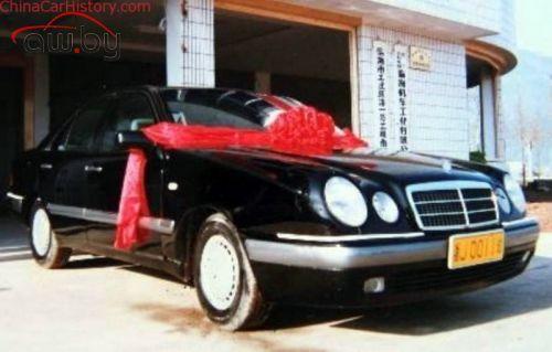 Китаец, желающий купить Daimler, пробовал сделать свой Mercedes