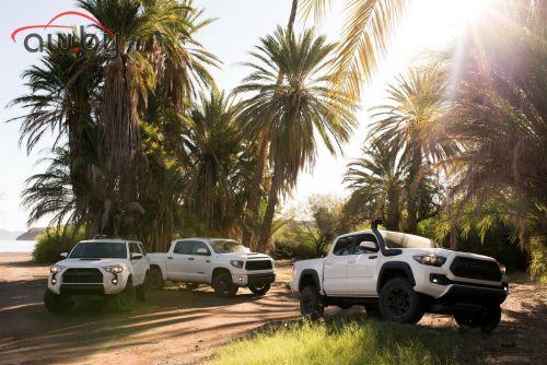 Toyota подготовила несколько своих моделей для бездорожья