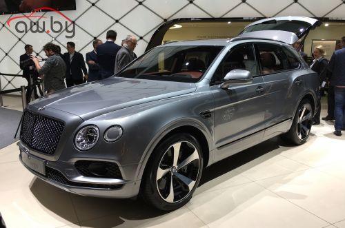 Новый Bentley: V8 и самые большие тормоза