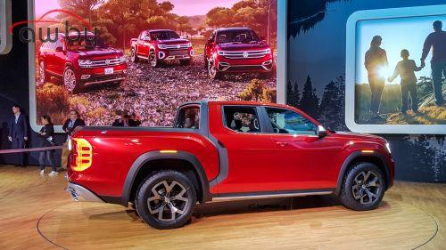 Volkswagen показал новый большой пикап