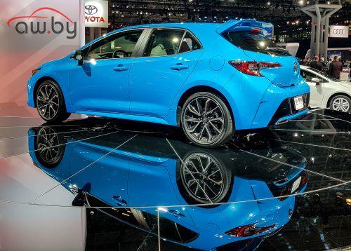 Новая Toyota Corolla кое-что взяла у «Лексуса»