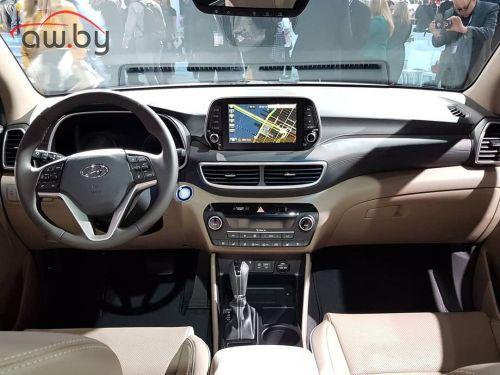 Hyundai обновила Tucson