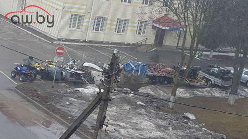 В Беларуси продолжают массово задерживать «квадрики крутяков»