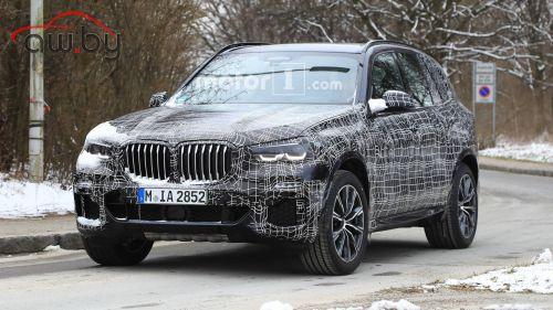 Новый BMW X5 засветился на шпионских фото
