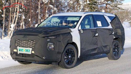 Новый большой Hyundai могут назвать «Палисадом»