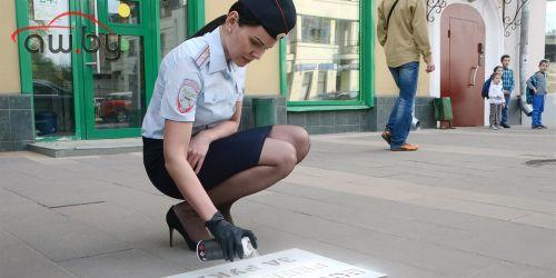 Московские «зебры» начали «разговаривать» (и получили надписи)