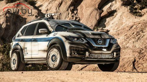 Nissan сделал из своего паркетника звездолёт для Соло и Чубакки