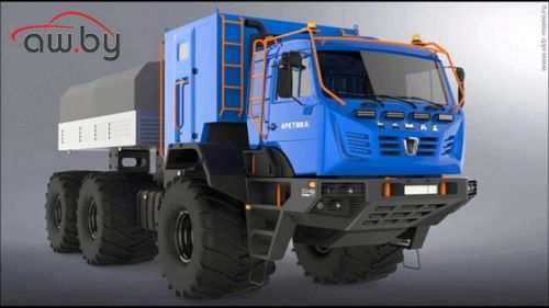 КАМАЗ построил супервездеход для МЧС