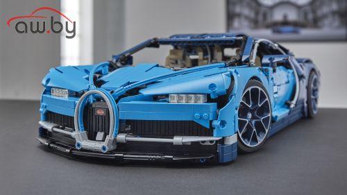 Lego представил супернабор Bugatti (его надо собирать 7 часов)
