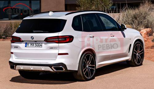 Новый BMW X5: первые изображения без камуфляжа