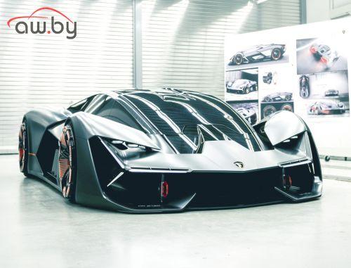 Новую супермодель Lamborghini показали только «своим людям»