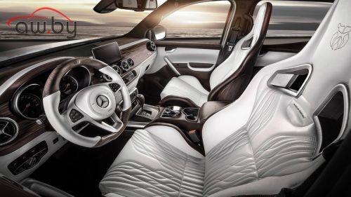 Из пикапа Mercedes сделали «почти Maybach»