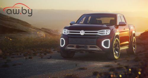 Volkswagen раздумывает над еще одним пикапом