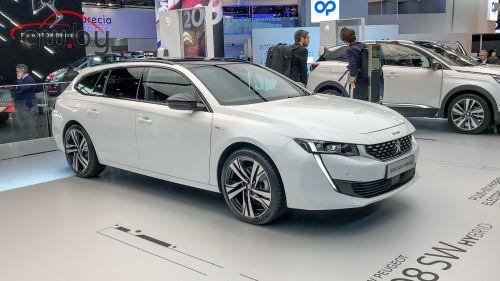 Peugeot показала необычный полный привод для 508-й модели