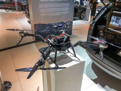 Land Rover Discovery научили искать людей с воздуха
